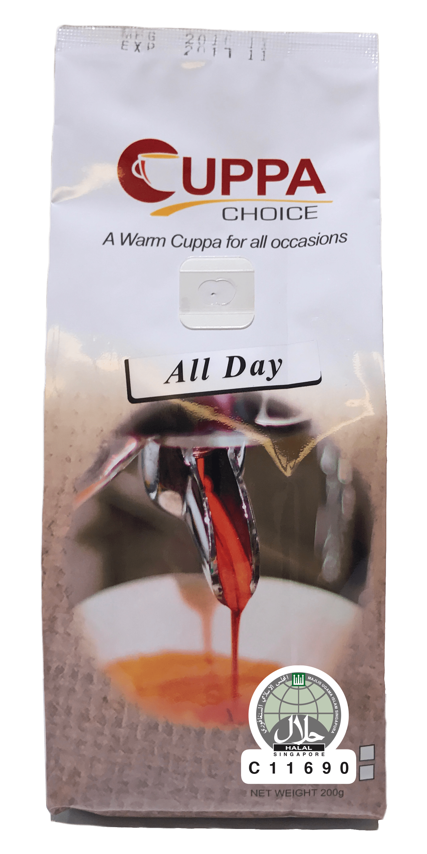 Cuppachoice Gourmet Coffee Beans All Day Blend